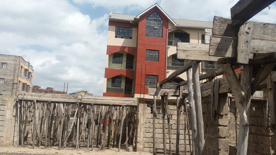Kitengela Incomplete Apartment
